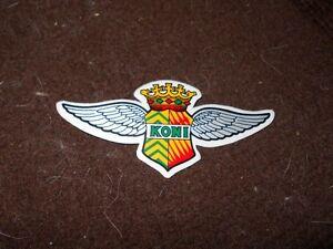 Details About Koni Shock Shocks Vintage Wings Logo Decal Sticker Ford Chevrolet Dodge Gm Nice