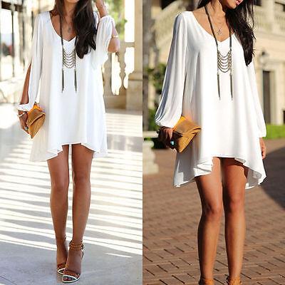 New Summer Sleeveless Short Mini Dress For Party Evening Cocktail Club Women