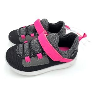 6 9 New Carter/'s Toddler Girls Sneakers Shoes Size 4 5 10 Black Boom 2-GCR