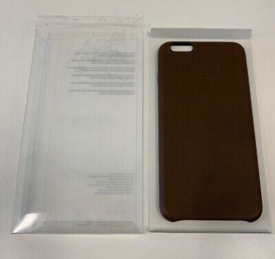 size 40 da161 bbff6 Details about Apple iPhone 6 Plus Leather Case - Olive Brown