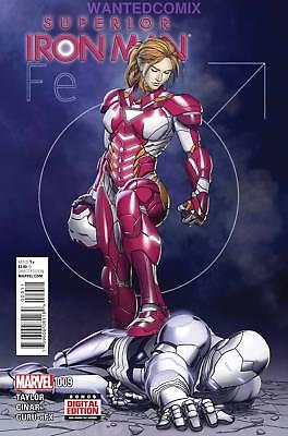 SUPERIOR IRON MAN #9 NEW IRON WOMAN BETRAYAL MARVEL AVENGERS COMIC BOOK 2015 NEW
