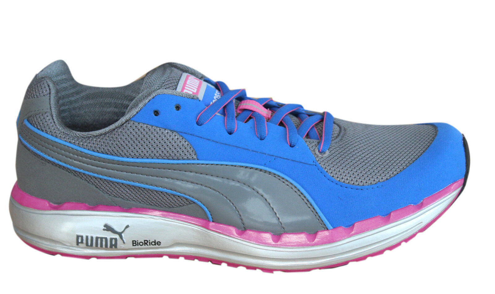 Puma Faas 500 Womens Trainers Lace Up Running shoes Pink Mesh 185161 15 D23