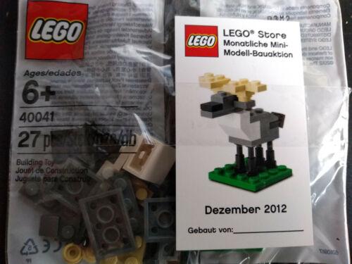 Lego Moose 40041 polybag Entièrement neuf sous emballage