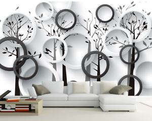 3D Circle 4167 Wallpaper Murals Wall Print Wallpaper Mural AJ WALL UK Carly