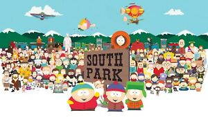 South-Park-All-Characters-Cartoon-Comedy-Wall-Art-Poster-Canvas-Pictures