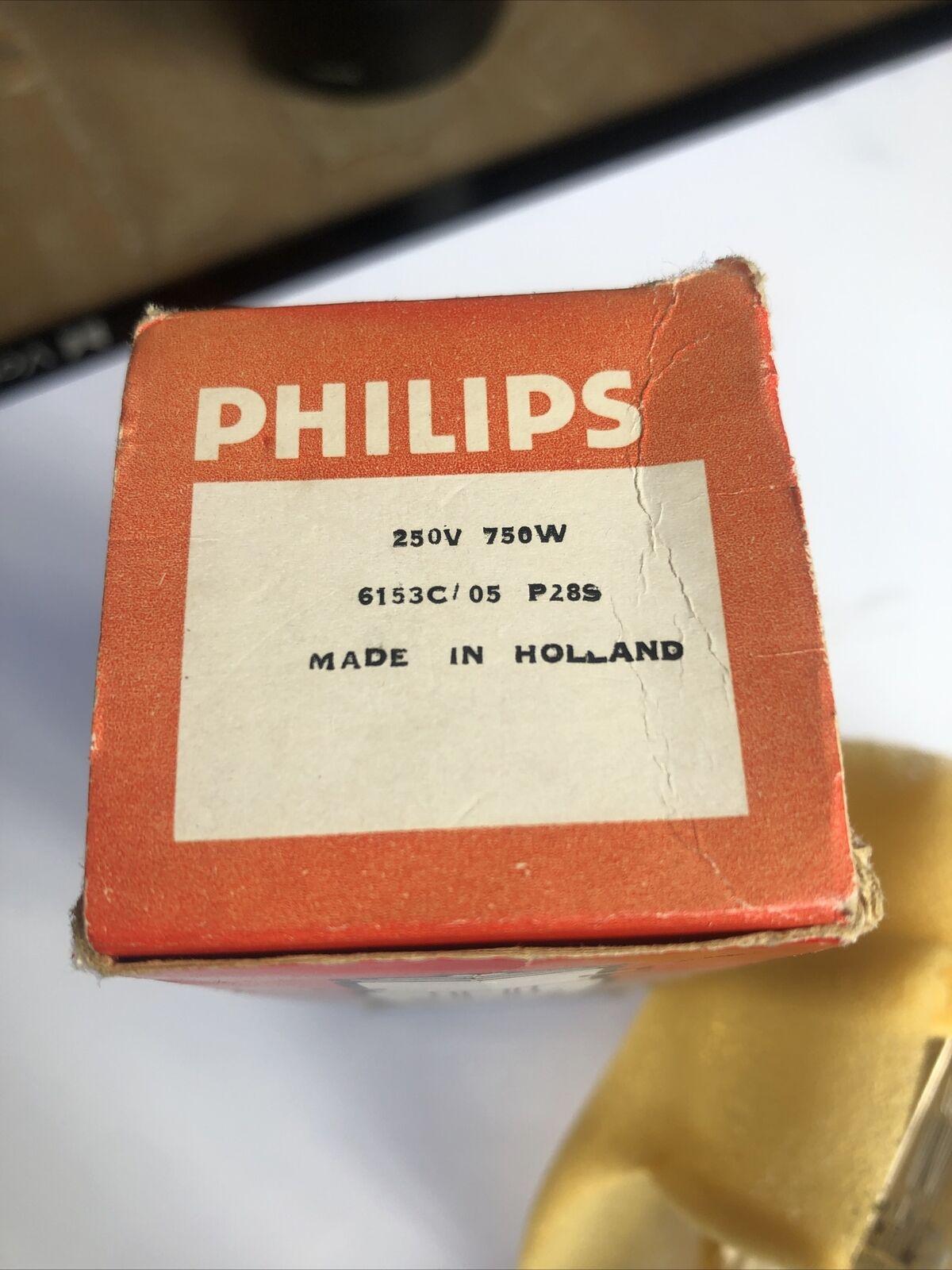 Philips 6153c/05 250v 750w P28s Bulb Lamp Globe