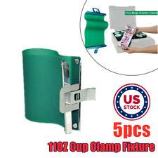 Us Stock 5pcs 11oz 3d Sublimation Silicone Mugs Wrap11oz Cup Mug Clamp Fixture
