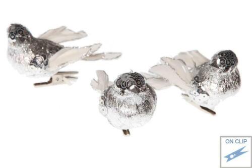 Deko 3  Vögel Goodwill Christbaumschmuck
