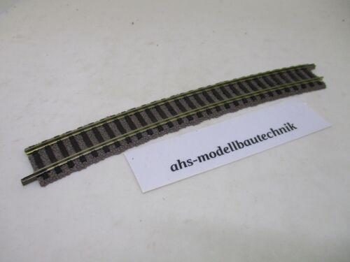 Fleischmann 6138 gebogenes Gleisstück Radius 647 mm 18° für Spur H0.