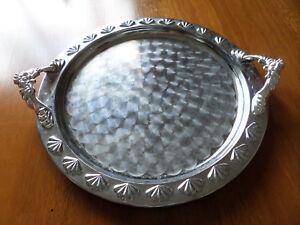Stainless-Steel-Designer-Round-Tray