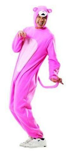 Pantherkostüm Kostüm Panther Overall  Pink pinkes Herrenkostüm Tier Tierkostüm G