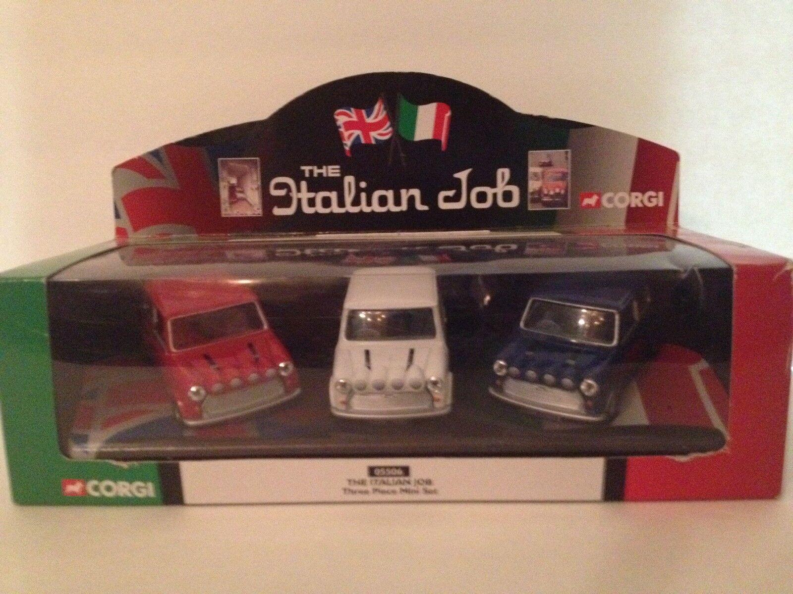 New the Italian job corgi mini 3 piece set 1 36 scale