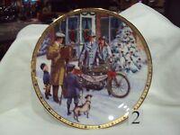 Harley Davidson Collectible1998 Christmas Plate