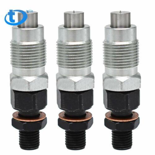 3x New Fuel Injectors For Kubota D722 Engine H1600-53000 16001-53002 16001-53000