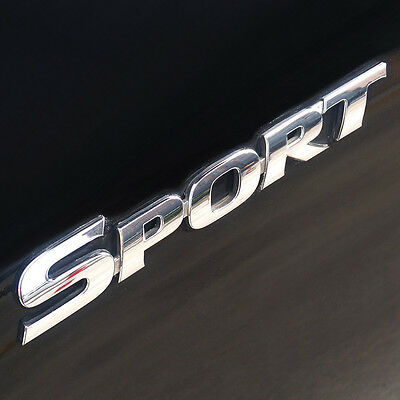 3D Gold TURBO Logo SUV Sticker Sports Stickers Metal Emblem Rear Trunk Badge