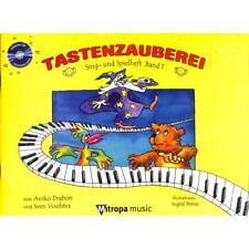 Tastenzauberei Sing- und Spielheft - Band 1 mit CD - Begleitheft zur Schule!!!