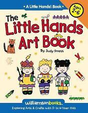 THE LITTLE HANDS ART BOOK ~ Craft Projects for Kids ~ Children's Activities -NEW