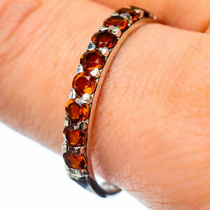 Citrine-925-Sterling-Silver-Ring-Size-11-Ana-Co-Jewelry-R28005F