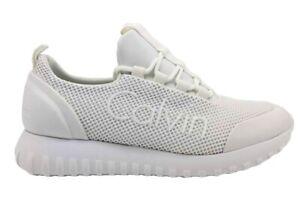 Calvin-Klein-Jeans-REIKA-MESH-R0666-Bianco-Scarpa-Sportiva-Casual