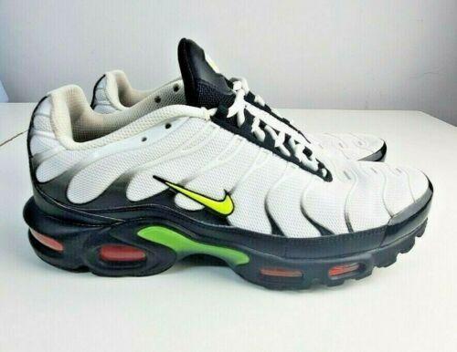 Nike Air Max Plus Tn White Black Volt Green' Brigh
