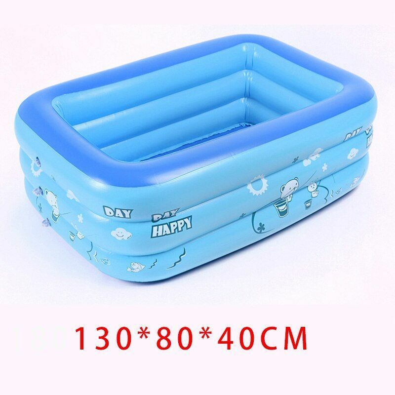 Inflatable Kids Pool Outdoor Baby Adults Paddling Pools Children Swimming Gift