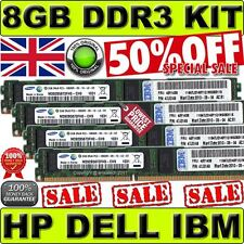 8GB(4x 2GB)PC3-10600R DDR3 Memory KIT For DELL Precision Workstation T5500/T7500