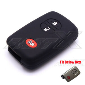 3-Buttons-Black-Silicone-Skin-Car-Key-Fob-Case-Cover-Holder-Case-fit-for-Toyota