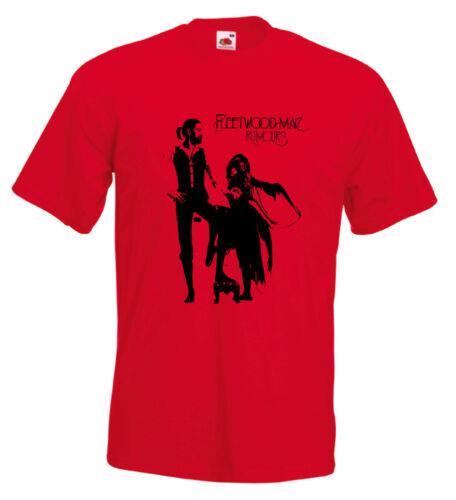 Fleetwood Mac Rumours T Shirt Stevie Nicks Christine McVie Lindsey Buckingham
