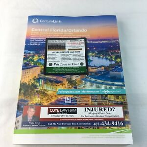 Central Florida Orlando White Yellow Pages Phone Book April
