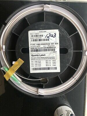 Corning Clearcurve 1F 5.0CC 2.9mm SCA326//SCA326 Fiber Optic Cable 12F NEW