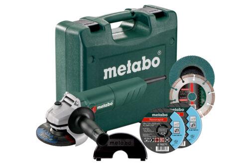 Restposten NEU #OB Metabo W 750-125 SET Winkelschleifer 601231900