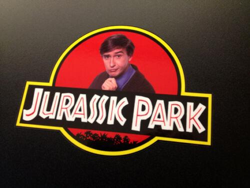 Alan Partridge Jurassic Park Sticker LARGE 135x100mm