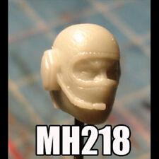 "MH387 Crye Helmet v1 Military Custom Cast Male head use w//3.75/"" GI Joe"