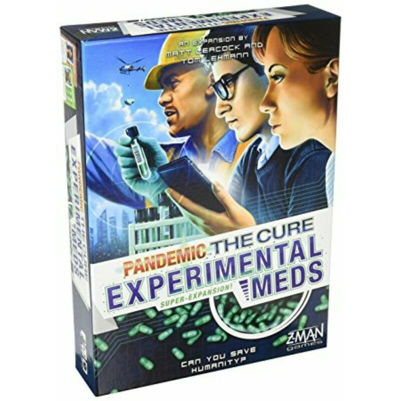 Pandemic: The Cure - Experimental Meds Expansion - New