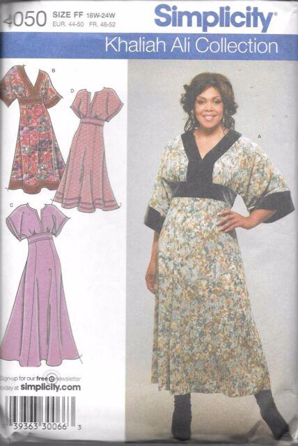 Ladies Plus Size 18 24 Sewing Pattern Uncut Simplicity 4050 Short