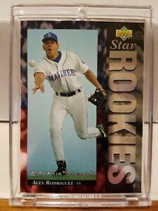 Details About 1994 Upper Deck Electric Diamond Alex Rodriguez 24 Yankees Rookie Card