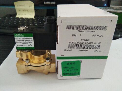 1PC NEW ASCA solenoid valve SCE238A002 24VDC
