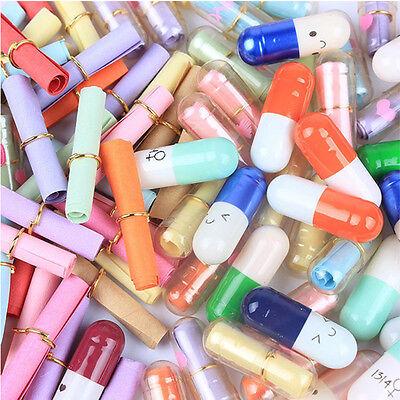 Original 50pcs LOVE Message Capsule Unconventional Letter Pills Multiple Colors