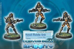Infinity BNIB Tohaa - Kotail Mobile Unit (Combi Rifle x2) 280918