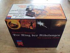 WAGNER - Der Ring Des Nibelungen - Ring Cycle 14 CD BOX SET George Solti SUPERB!