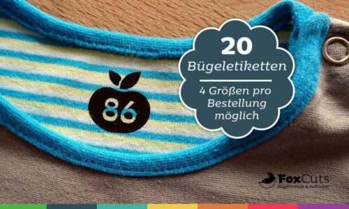 20 tamaños etiquetas para la plancha perchas etiquetas tamaños Label manzana