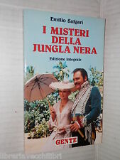 I MISTERI DELLA JUNGLA NERA Emilio Salgari Gente 1991 libro narrativa ragazzi di