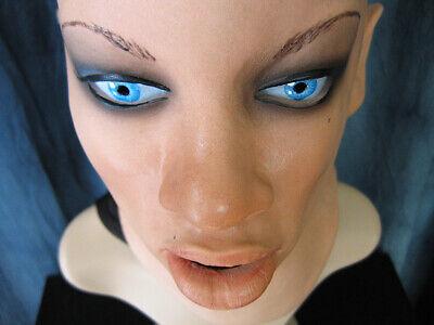 Lattice Maschera Jolie Teeth + Occhi Femminile Di Donna Stretta Visione Signora Crossdresser Trans-mostra Il Titolo Originale Prestazioni Affidabili