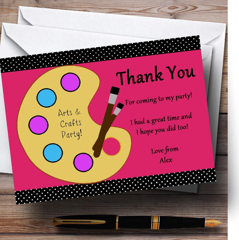 Arts crafts peinture cartes merci cartes peinture personnalisé anniversaire cartes remercieHommes t 17b1cd