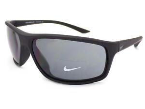 7d0b3f0f8c Image is loading NIKE-ADRENALINE-Matt-Black-Anthracite-Sunglasses-Dark-Grey-