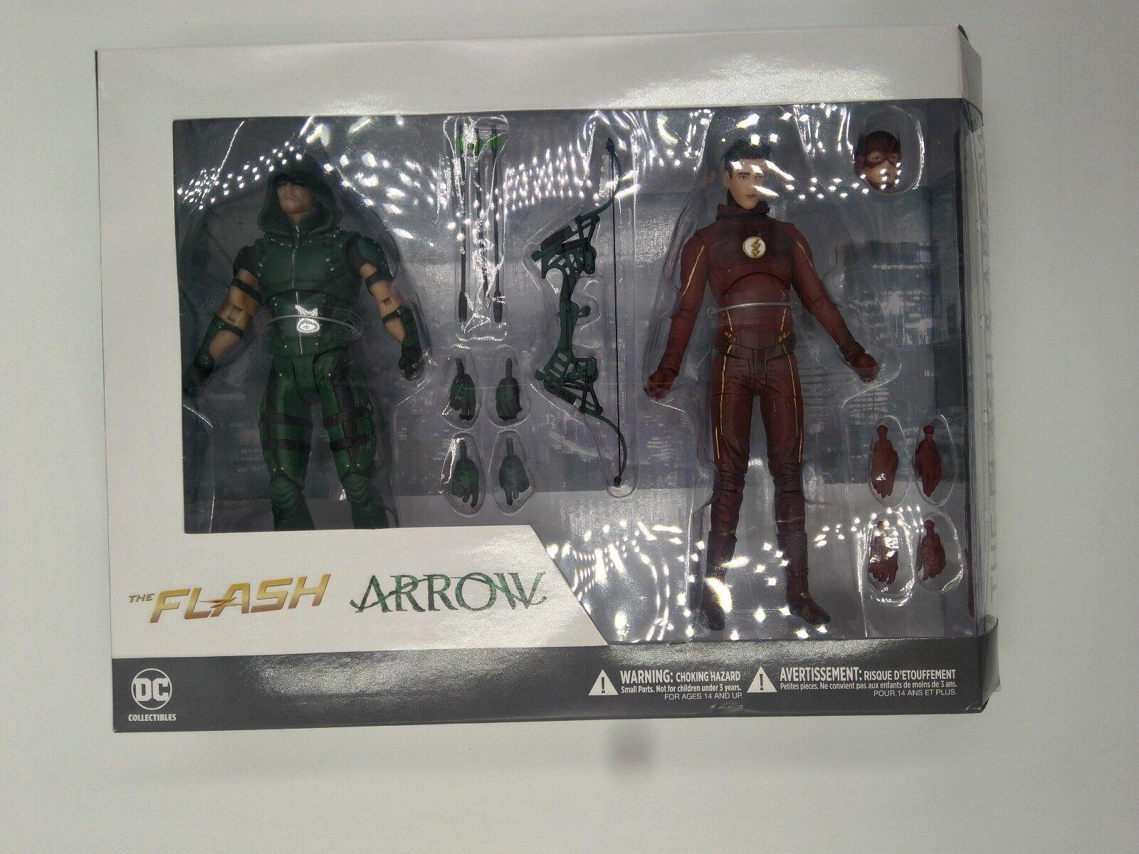 Figuras de accion:  The Flash & Arrow