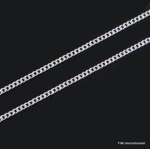 Top tanques cadena 40-45-50-55-60 cm 2 mm cadena collar joyas de plata PL nuevo G 5