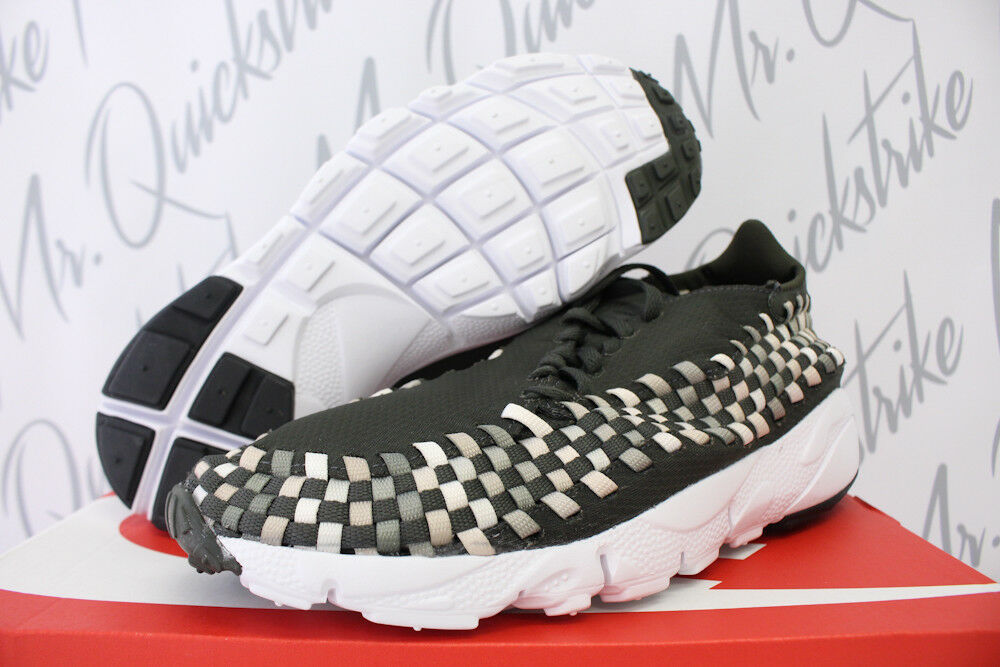 NIKE AIR FOOTSCAPE WOVEN OREWOOD NM SZ 11 SEQUOIA OREWOOD WOVEN BROWN SAIL 875797 300 e57df5