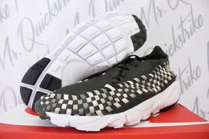 ... NIKE AIR FOOTSCAPE WOVEN NM SEQUOIA OREWOOD BROWN SAIL 875797 300 SZ  10.5. Mens Nike Blazer Studio Low Black Crocodile Shoes ... 107af3991