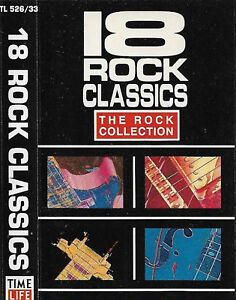 Various-18-ROCK-CLASSICS-CASSETTE-ALBUM-New-Wave-Synth-pop-Classic-Rock